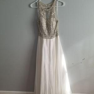 Beautiful white boutique dress